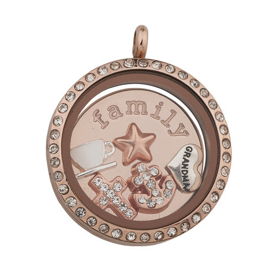 GRANDMA OUR ANCHOR Locket