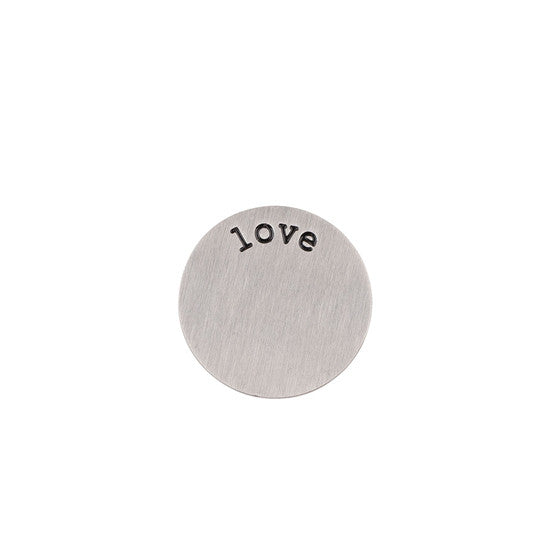 LOVE HALO (PLATE) SILVER SMALL