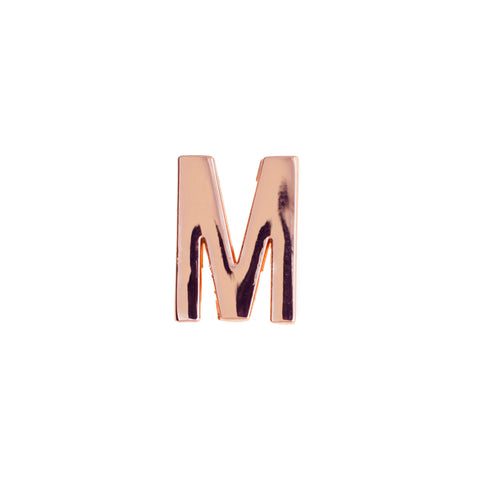 Buckle Up Rose Gold M Charm