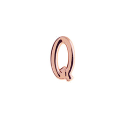 Buckle Up Rose Gold Q Charm