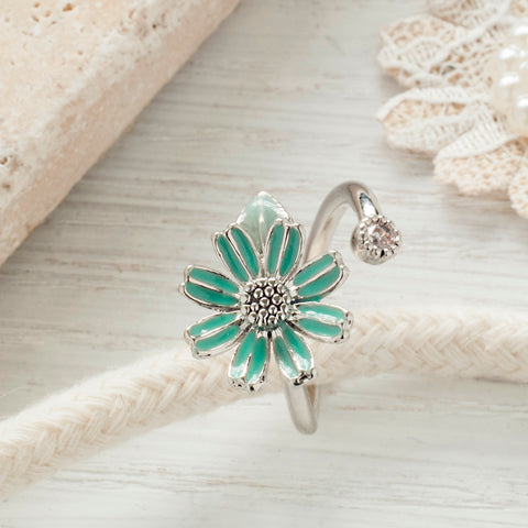 Secret Garden Flower Ring