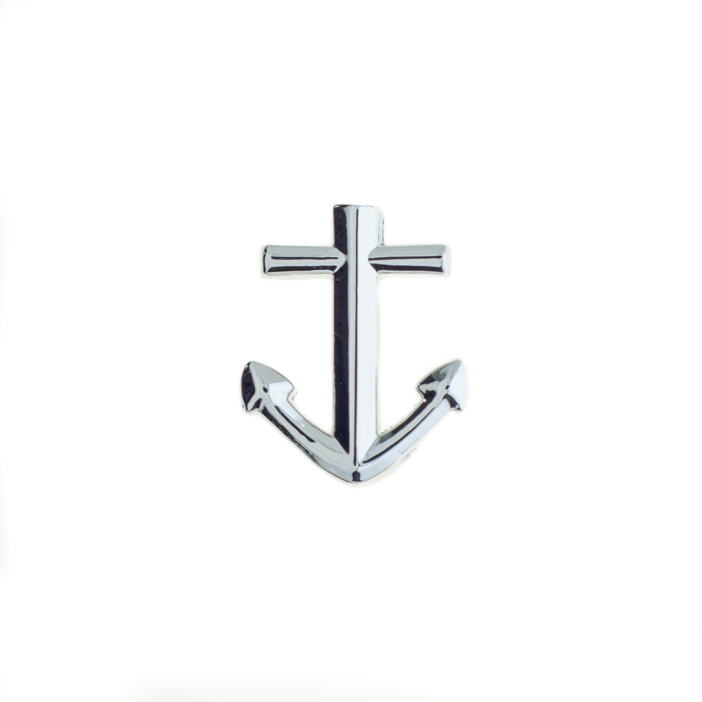 Buckle Up Silver Anchor Charm