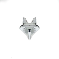 Buckle Up Silver Fox Charm