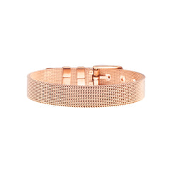 Buckle Up Rose Gold V Charm