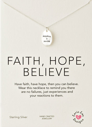 Lorie Lou Designs, Everything is Possible Charm Necklace