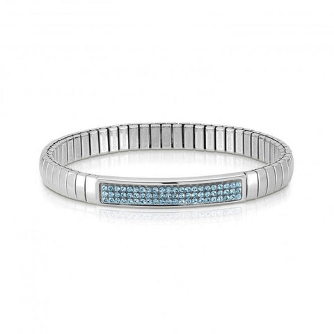NOMINATION Light Blue Swarovski Crystal Bracelet