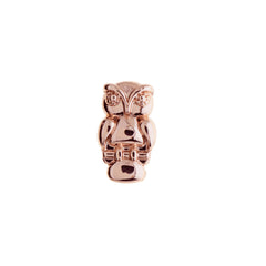 Buckle Up Rose Gold Owl Charm