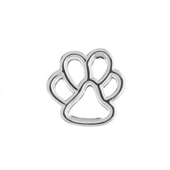 Buckle Up Rose Gold Paw Charm