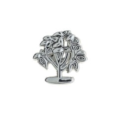 Buckle Up Silver New Life Tree Charm