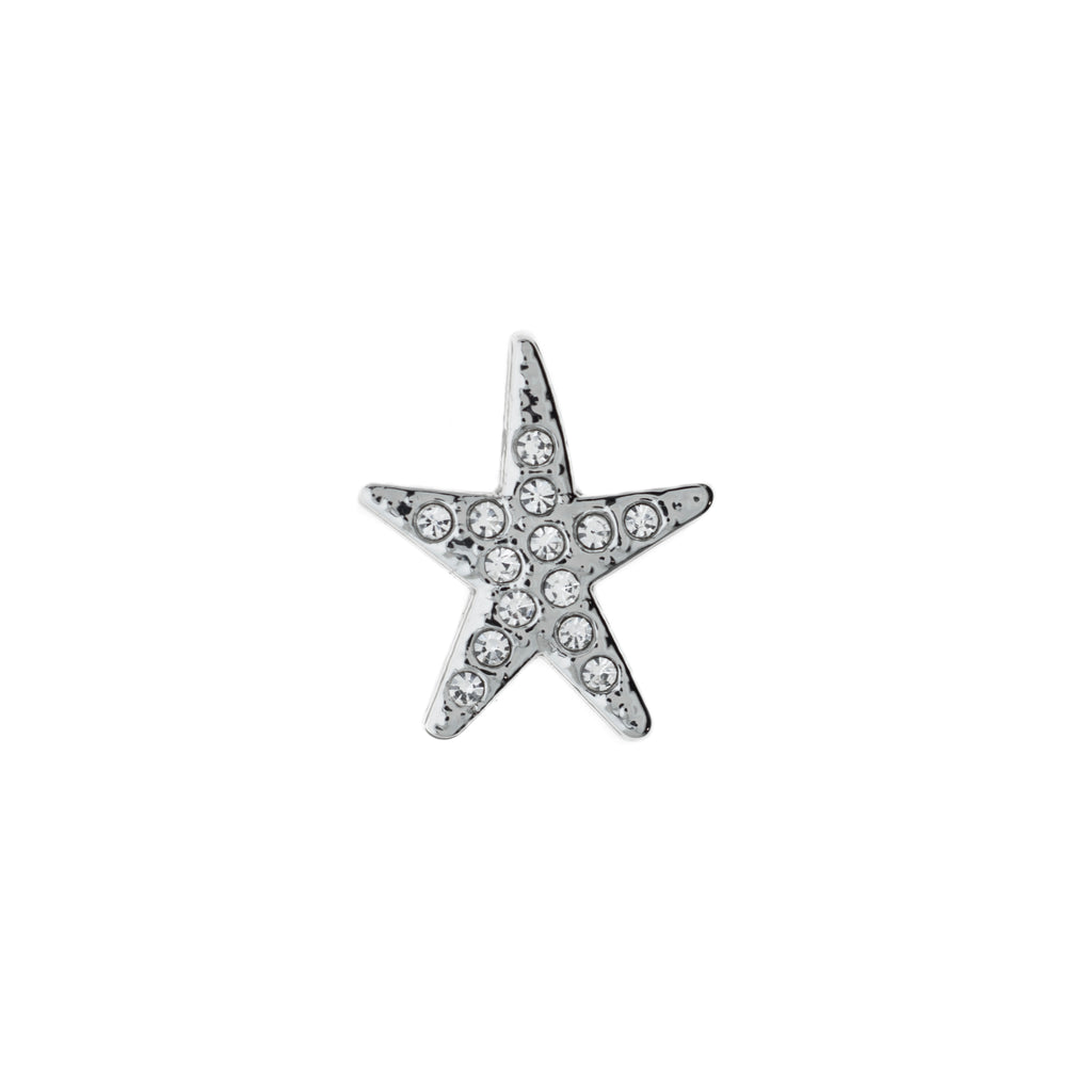 Buckle Up Silver Star Charm