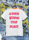 ST!NK - artist SAVANT, Back Print - Kids Shirt_White