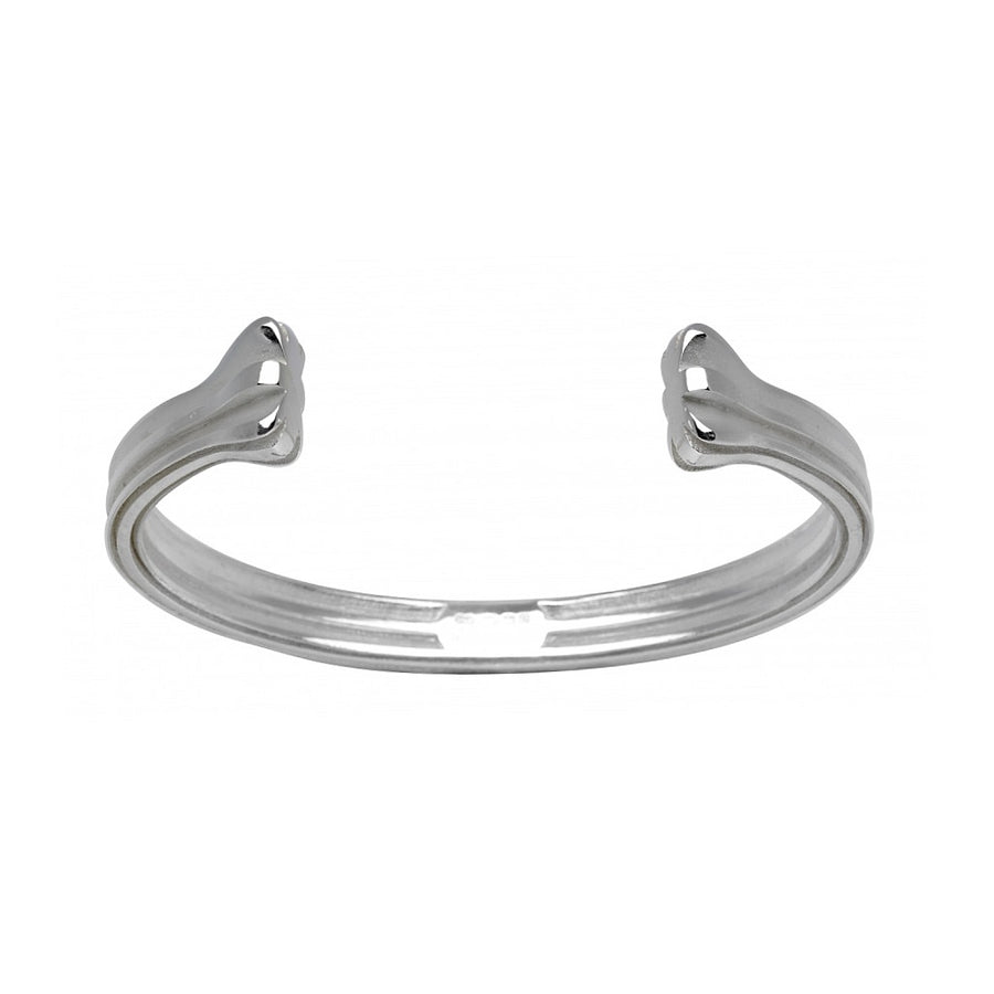 Deakin & Francis Union Jack Silver Bangle