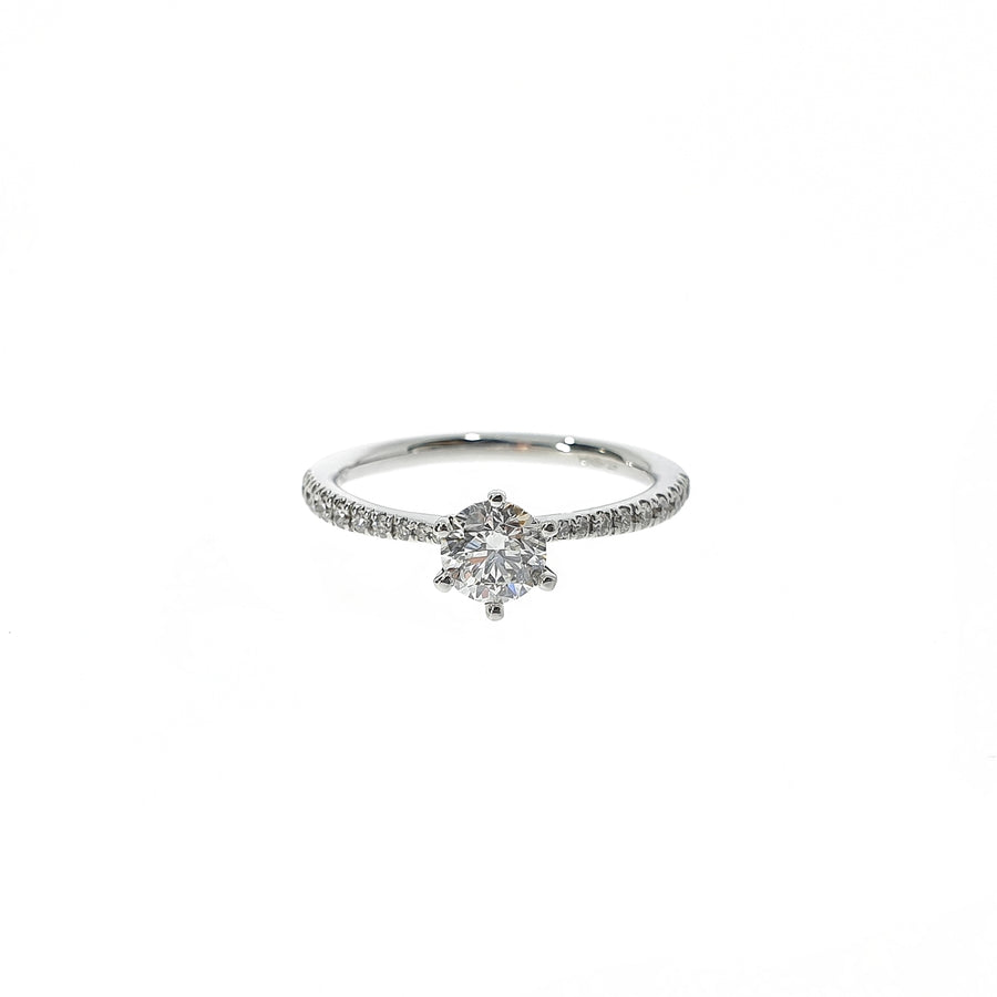0.52ct Diamond Solitaire Ring