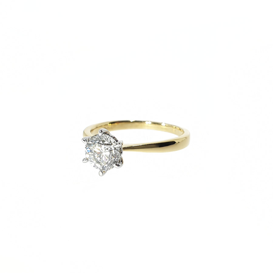 1.00ct Diamond Solitaire Ring