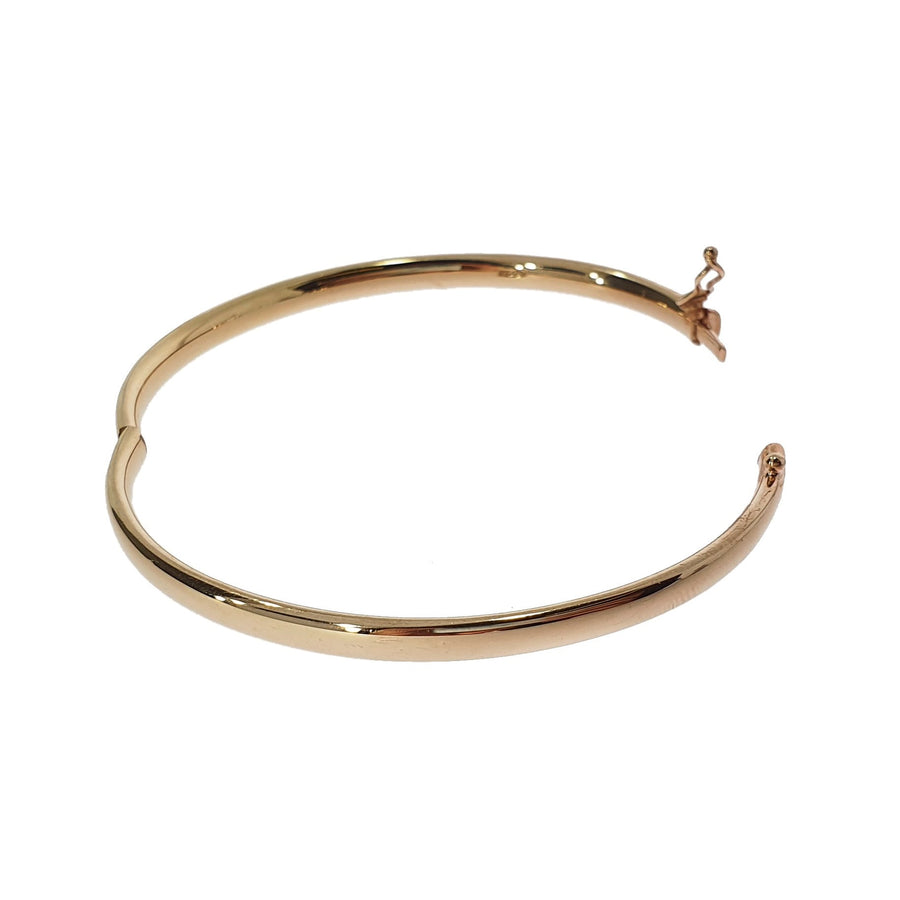Rose Gold Solid Bangle