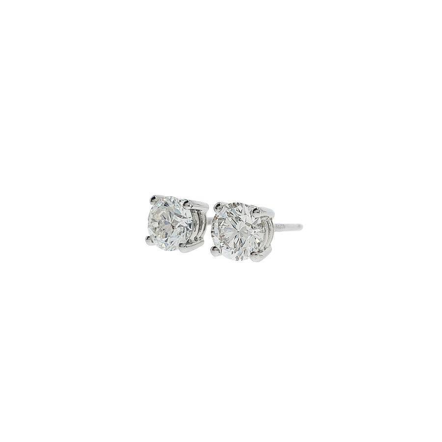 1.01ct Diamond Stud Earrings