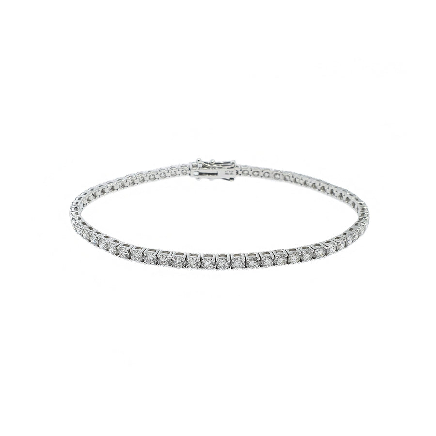 5.09ct Diamond Tennis Bracelet