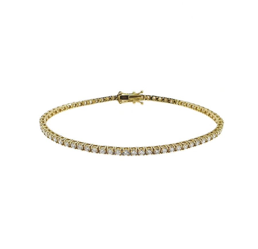 2.81ct Diamond Tennis Bracelet