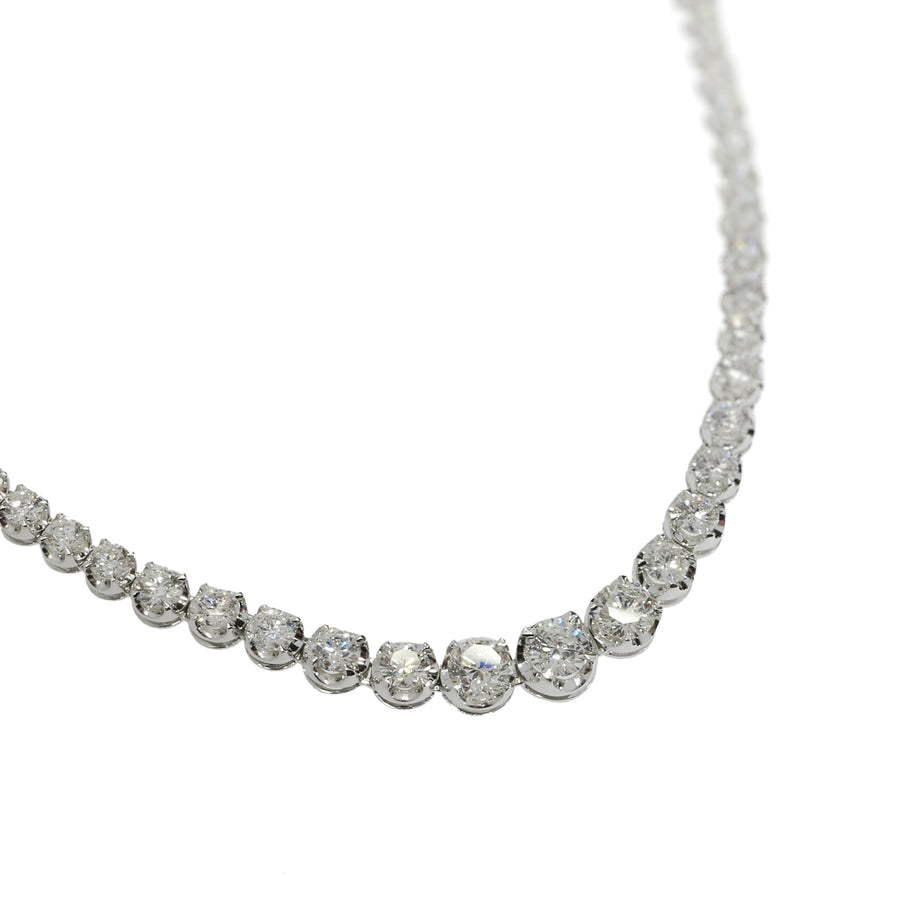9.80ct Diamond Riveria Necklace