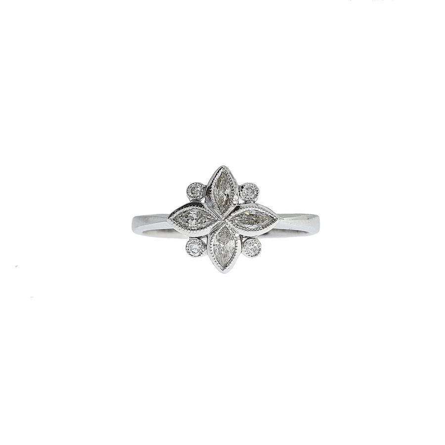 0.36ct Vintage Style Diamond Ring