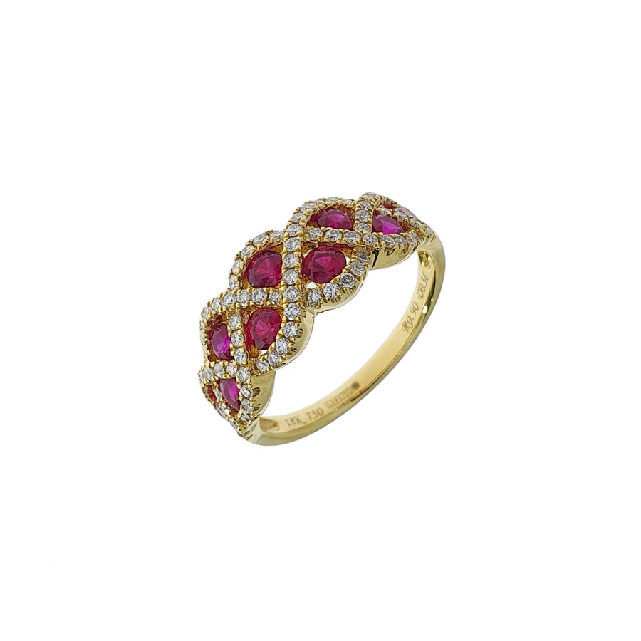 Ruby & Diamond Dress Ring