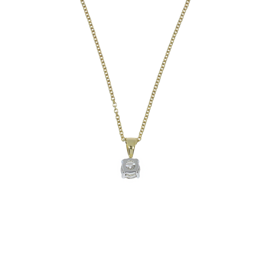 0.52ct Diamond Solitaire Pendant