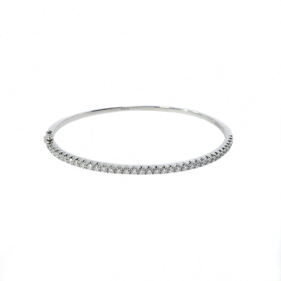 Diamond Set Bangle