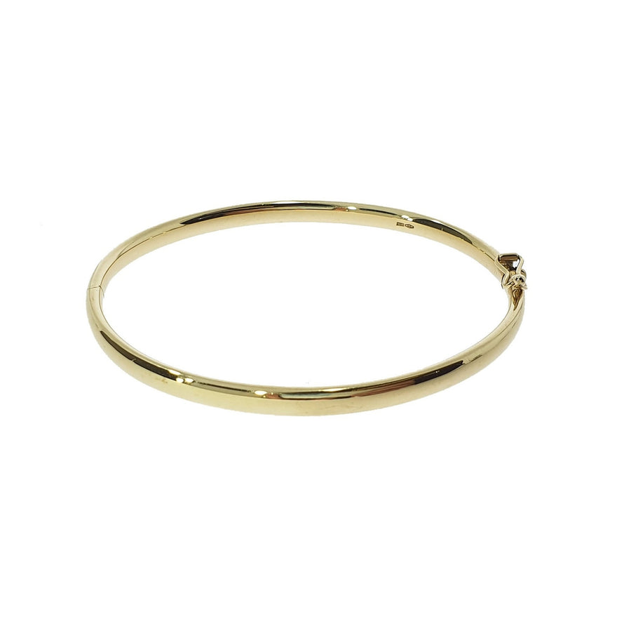 Solid Yellow Gold Bangle