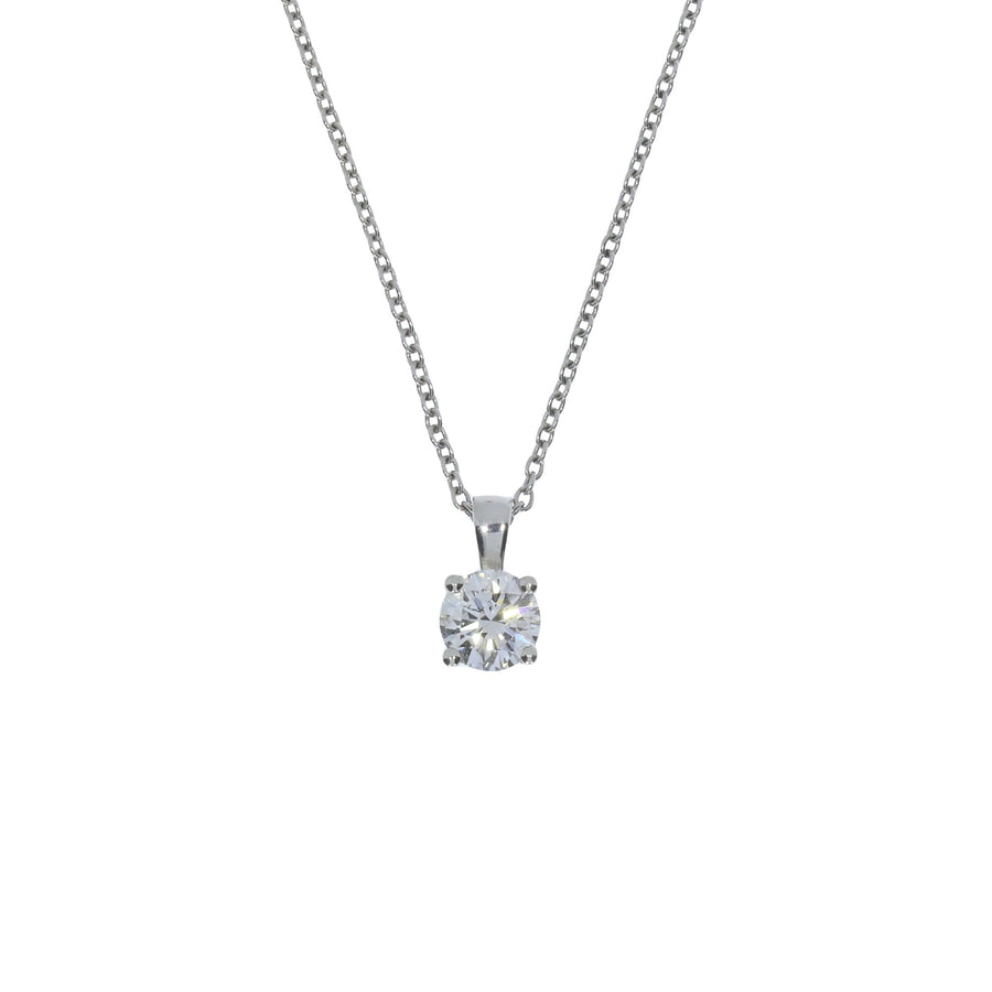 1.03ct Diamond Solitaire Pendant