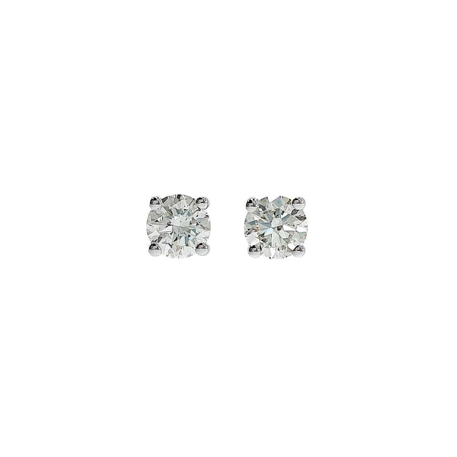 1.04ct Diamond Stud Earrings