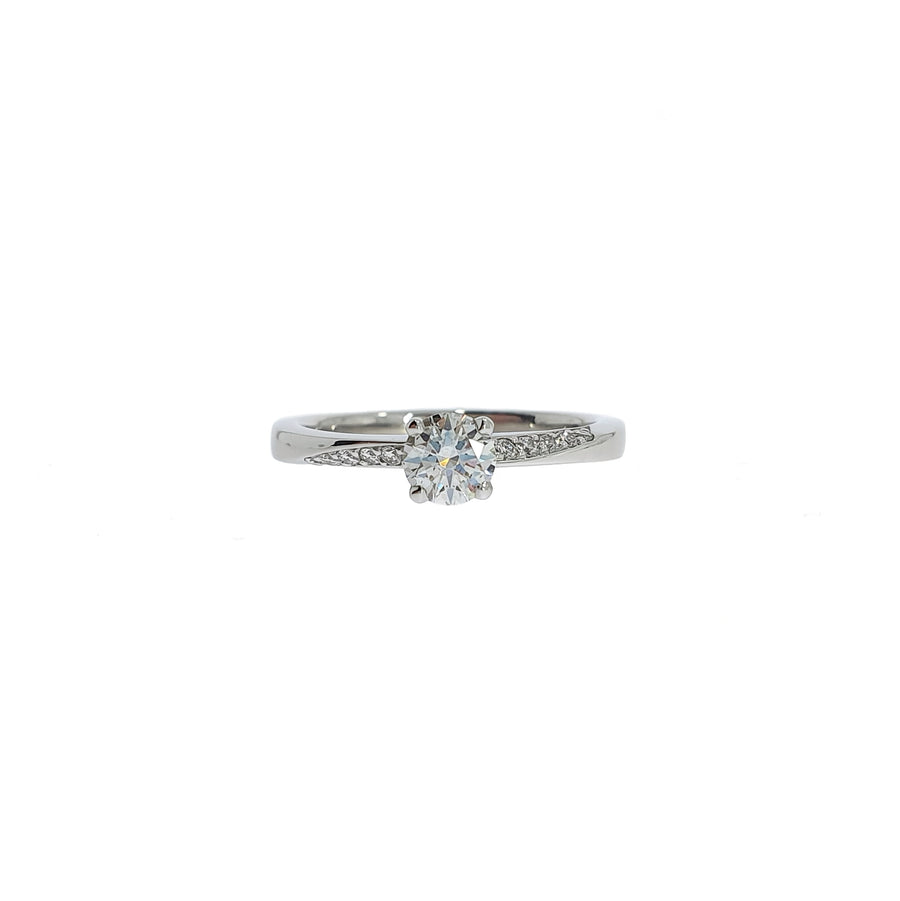 0.37ct Diamond Solitaire Ring