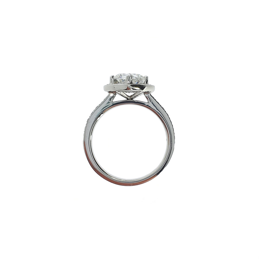 1.50ct Cushion Cut Diamond Ring