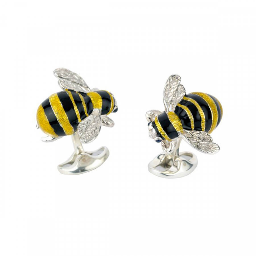 Bumble Bee Cufflinks