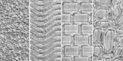 Bulk Buy: Makin'S Clay Texture Sheets Set A (Cobblestone/Brick/Wave/Sand) M380-1