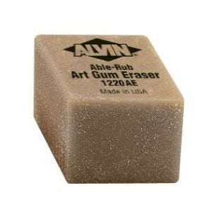 Small Art Gum Pencil Eraser