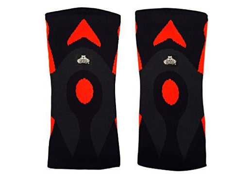 Bear Grips: 3Mm Minimalistic Knee Sleeves, Contouring Design To Protect Acl, Mcl, Pcl, Meniscus, Arthritis Ideal For Weight Lifting, Wods, All Day Use (Red, Medium, Single Sleeve)