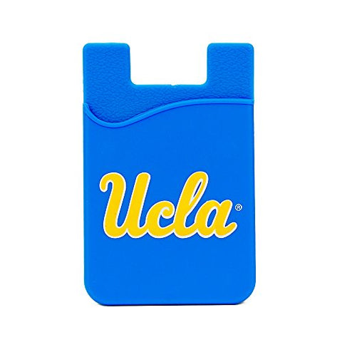 Ucla Bruins Silicone Card Keeper Phone Wallet