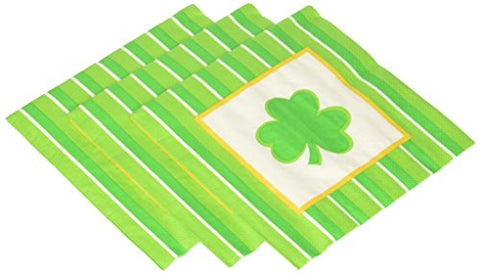 Kole Imports Pb569 St. Patrick'S Day Lunch Napkins