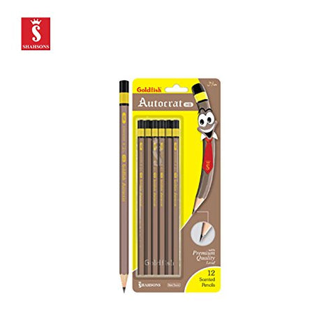 Shahsons Goldfish Autocrat Pencils - Hb - - Writing Pencils - Made In Pakistan