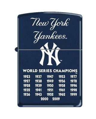 Zippo  New York Yankees  27 Times World Series Champions Lighter, 8221