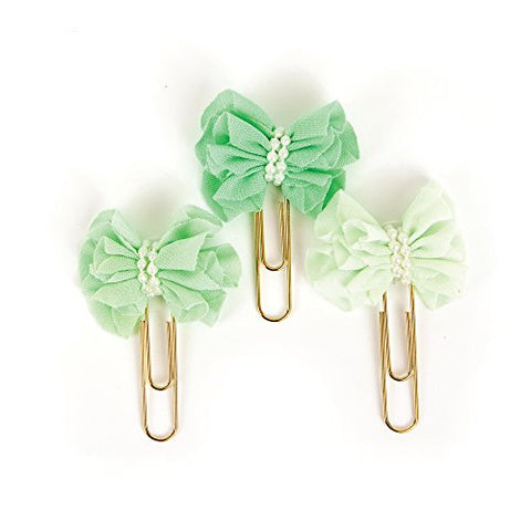 Prima Marketing 655350593766 My Prima Planner Clips - Soft Mint