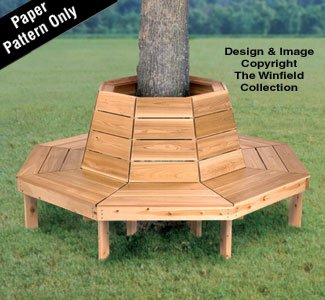 Tree Bench Woodworking Plan