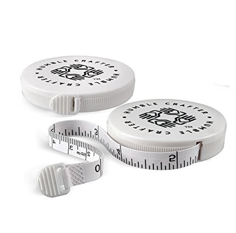 Sewing Tape Measure | Retractable | 60-Inch Measuring Tapes For Easy Use With Sewing, Crocheting, And Knitting