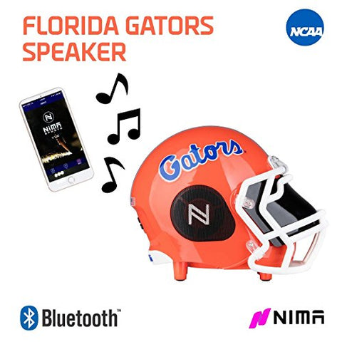 Ncaa Football Florida Gators Wireless Bluetooth Speaker. Officially Licensed Portable Helmet Speaker By Ncaa College Football - Small