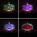 Hengda Kite 136 Led Night Kite Soft Cloth Ufo Flying Saucer Super Bright Led Luminous Kite