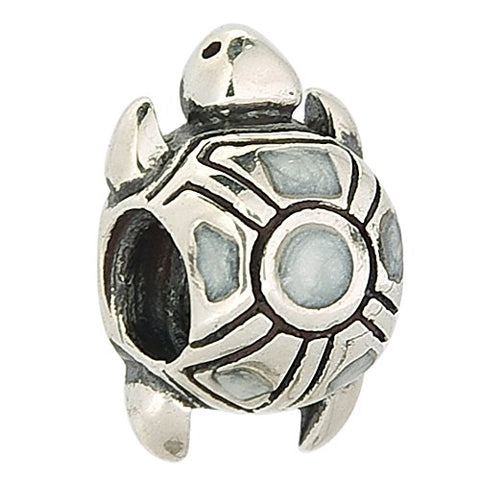 Tortoise Sea Turtle Authentic 925 Sterling Silver Bead Fits Pandora Charms
