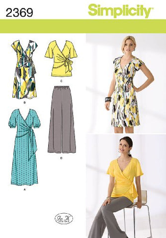 Simplicity Sewing Pattern 2369 Misses' Dress And Seperates, K5 (8-10-12-14-16)