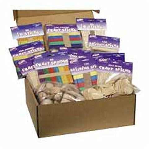 Chenille Kraft Company Ckc1718 Wood Crafts Classroom Activities Kit .Supply.From:Unbeatablesales
