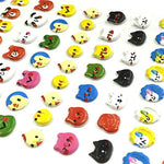 Allydrew 3D Puffy Stickers Bubble Stickers For Crafts & Scrapbooking (4 Sheets) - Hearts, Bunny Playset & Animal Faces