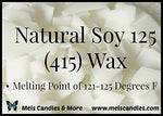3 Pound Bag Of Soy Wax Flakes- Natural Soy 125 (415) Wax A Pure Soy Container Wax With No Additives.